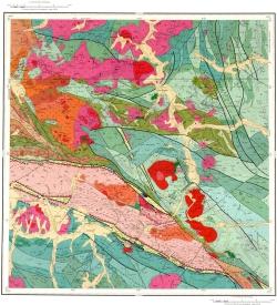M-45-XV. Геологическая карта Российской Федерации. Второе издание. Карта дочетвертичных образований
