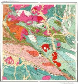 M-45-XV. Геологическая карта Российской Федерации. Второе издание. Карта полезных ископаемых