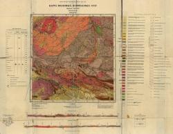 M-45-XVII. Карта полезных ископаемых СССР. Серия Алтайская