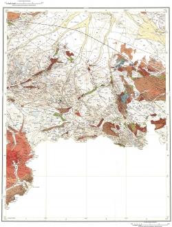 M-45-XXIII, XXIX. Геологическая карта Российской Федерации. Издание второе. Карта полезных ископаемых. Серия Горно-Алтайская
