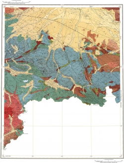 M-45-XXIII, XXIX. Геологическая карта Российской Федерации. Издание второе. Серия Горно-Алтайская