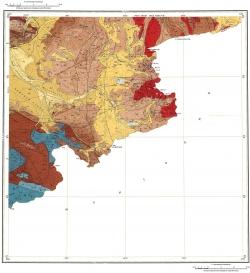 M-45-XXIV. Геологическая карта Российской Федерации. Издание второе. Горно-Алтайская серия