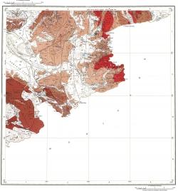 M-45-XXIV. Геологическая карта Российской Федерации. Издание второе. Карта полезных ископаемых. Горно-Алтайская серия