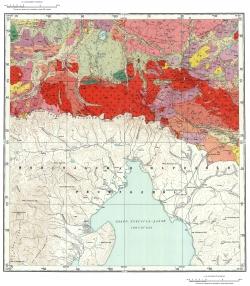 M-47-V. Геологическая карта СССР. Серия Восточно-Саянская