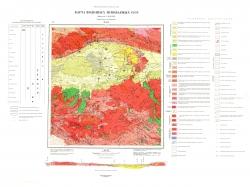 M-48-I. Карта полезных ископаемых СССР. Серия Восточно-Саянская