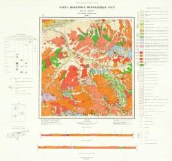 M-49-I. Карта полезных ископаемых СССР. Серия Западно-Забайкальская