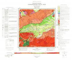 M-49-X. Геологическая карта СССР. Западно-Забайкальская серия.