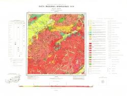 M-49-XI. Карта полезных ископаемых СССР. Серия Восточно-Забайкальская