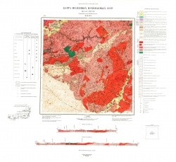M-49-XIX. Карта полезных ископаемых СССР. Серия Восточно-Забайкальская