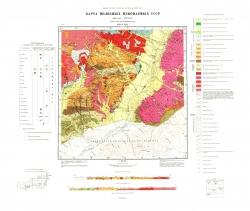 M-49-XXIII. Карта полезных ископаемых СССР. Серия Восточно-Забайкальская