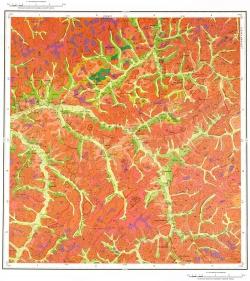 M-50-IV. Геологическая карта Российской Федерации. Издание второе. Карта четвертичных образований. Приаргунская серия