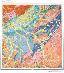 M-50-IV. Геологическая карта Российской Федерации. Издание второе. Приаргунская серия