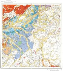 M-50-IV. Геологическая карта Российской Федерации. Карта полезных ископаемых. Издание второе. Приаргунская серия