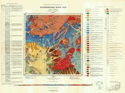 M-50-IX. Геологическая карта СССР. Серия Восточно-Забайкальская