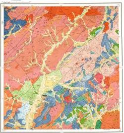 M-50-V. Геологическая карта Российской Федерации. Издание второе. Приаргунская серия