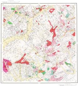 M-50-XI. Геологическая карта Российской Федерации. Карта полезных ископаемых. Приаргунская серия