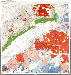 M-50-XVI. Геологическая карта Российской Федерации. Карта полезных ископаемых. Приаргунская серия