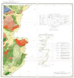 M-50-XVIII. Геологическая карта Российской Федерации. Карта полезных ископаемых. Приаргунская серия