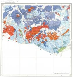 M-50-XXII. Геологическая карта Российской Федерации. Карта полезных ископаемых. Приаргунская серия