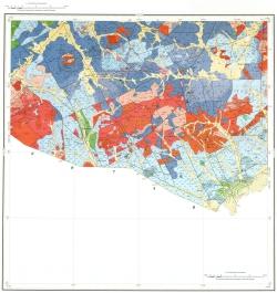 M-50-XXII. Геологическая карта Российской Федерации. Приаргунская серия