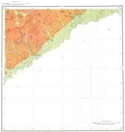 M-50-XXIII. Геологическая карта Российской Федерации. Второе издание. Карта четвертичных отложений. Приаргунская серия