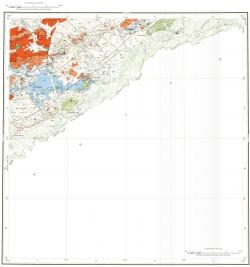 M-50-XXIII. Геологическая карта Российской Федерации. Второе издание. Карта полезных ископаемых. Приаргунская серия
