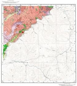 M-51-I. Геологическая карта СССР. Карта полезных ископаемых. Восточно-Забайкальская серия