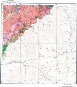 M-51-I. Геологическая карта СССР. Восточно-Забайкальская серия