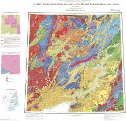 M-53 (Хабаровск). Государственная геологическая карта Российской Федерации. Третье поколение. Геологическая карта. Дальневосточная серия