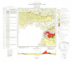 M-53-XXXIII. Геологическая карта СССР. Хингано-Буреинская серия.