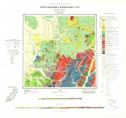 M-53-XXXV. Карта полезных ископаемых СССР. Серия Сихотэ-Алинская