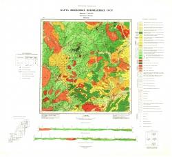 M-54-XX. Карта полезных ископаемых СССР. Серия Сихотэ-Алинская