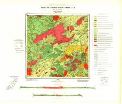 M-54-XXXI. Карта полезных ископаемых СССР. Серия Сихотэ-Алинская