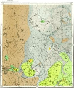 N-36-IX. Карта полезных ископаемых СССР. Московская серия