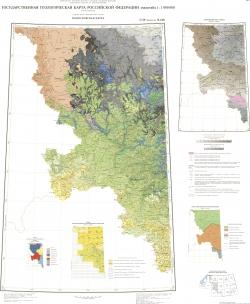 N-36 (Смоленск); M-(36). Государственная геологическая карта Российской Федерации. Третье поколение. Центрально-Европейская серия. Геологическая карта
