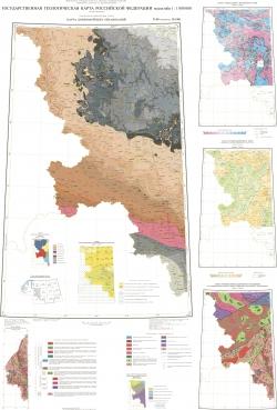 N-36 (Смоленск); M-(36). Государственная геологическая карта Российской Федерации. Третье поколение. Центрально-Европейская серия. Карта домезозойских образований