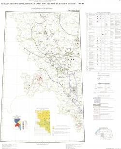 N-36 (Смоленск); M-(36). Государственная геологическая карта Российской Федерации. Третье поколение. Центрально-Европейская серия. Геологическая карта. Карта полезных ископаемых. Лист 1