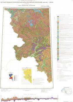 N-36 (Смоленск); M-(36). Государственная геологическая карта Российской Федерации. Третье поколение. Центрально-Европейская серия. Карта четвертичных образований