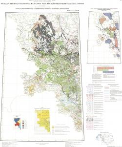 N-36 (Смоленск); M-(36). Государственная геологическая карта Российской Федерации. Третье поколение. Центрально-Европейская серия. Карта закономерностей размещения и прогноза полезных ископаемых