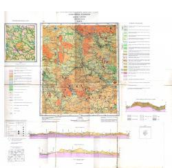 N-36-VI. Геологическая карта СССР. Четвертичные отложения. Серия Московская