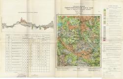 N-36-VI (Уваровка). Государственная геологическая карта СССР. Первые от поверхности водоносные горизонты. Московская серия