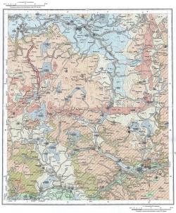 N-36-VIII. Карта четвертичных отложений СССР. Московская серия