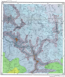 N-36-X. Геологическая карта СССР. Московская серия