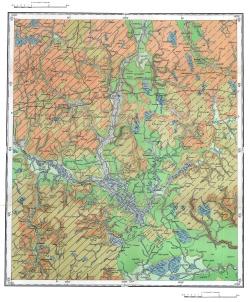 N-36-X. Карта четвертичных отложений СССР. Московская серия