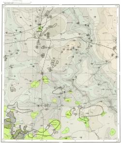 N-36-XI. Карта полезных ископаемых СССР. Московская серия