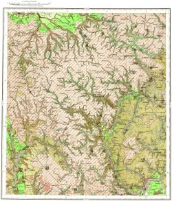 N-36-XIV. Геологическая карта СССР. Карта четвертичных отложений. Московская серия