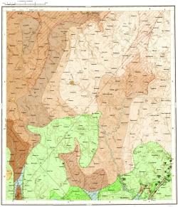 N-36-XIV. Геологическая карта СССР. Московская серия
