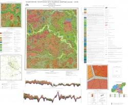 N-37-II (Москва). Государственная геологическая карта Российской Федерации. Карта четвертичных отложений