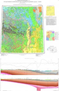 N-37 (Москва). Государственная геологическая карта Российской Федерации. Третье поколение. Центрально-Европейская серия. Геологическая карта дочетвертичных образований