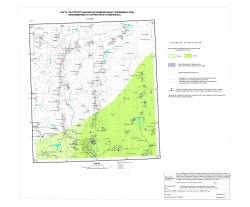 N-37-XXX. Карта распространения некондиционных подземных вод нижнемелового терригенного комплекса